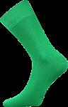 Bunte Socken zum Anzug grun