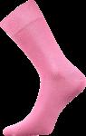 Bunte Socken zum Anzug rosa