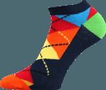 Bunte Socken für Sommer rot 1