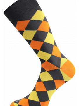 Bunte Socken in jede Gesellschaft orange 1