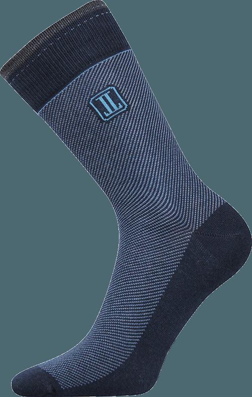 Elegante Socken für jeden Tag blau