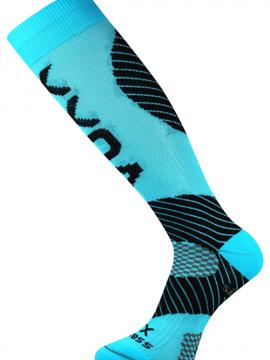 Kompress Socken für Lauf Blau