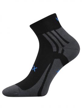 Socken für Lauf Schwarz