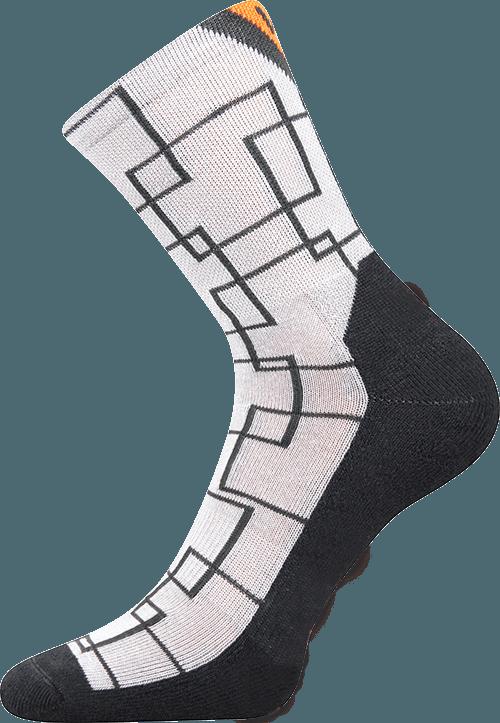 Socken für Sport weiss