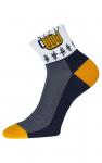 Socken mit Bier Motiv 1