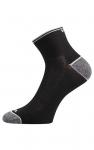 Socken zum Laufen Schwarz