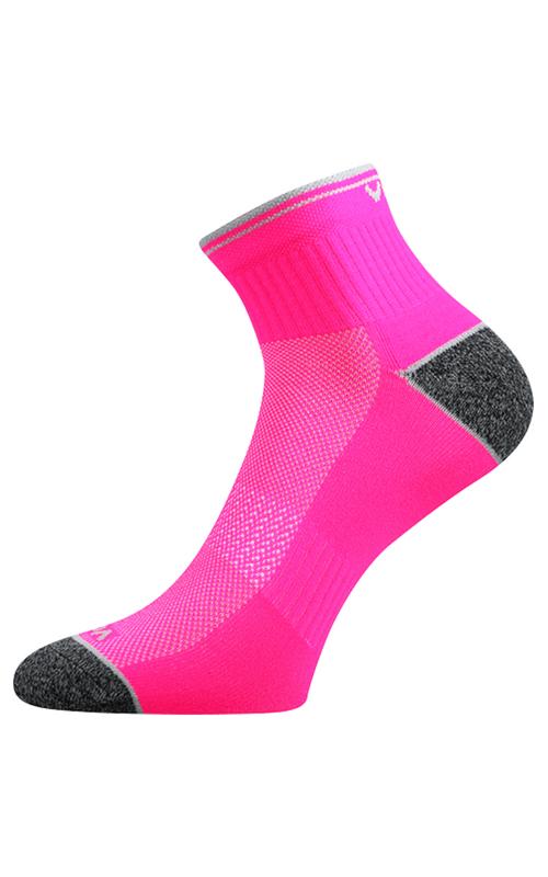 Socken zum Laufen blau Rosa