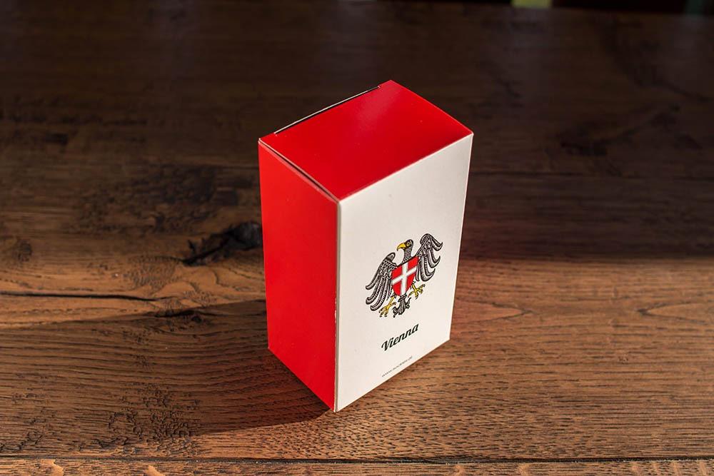 Geschenkbox mit Wien Motiv