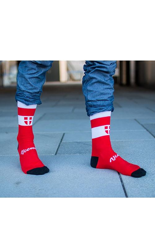 Originelle Socken mit Wien Motiv