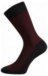 Business Socken zum Anzug Rot