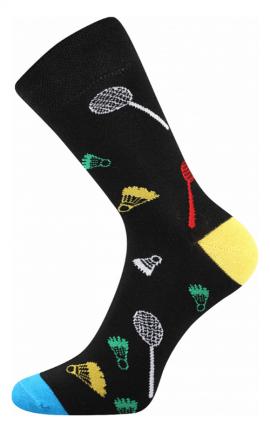Bunte Socken Badminton