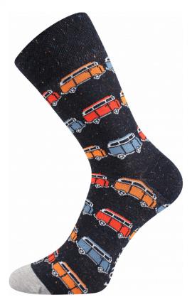 Bunte Socken Autobus