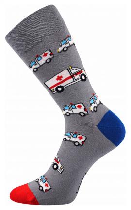 Bunte Socken für Einsatzkräfte