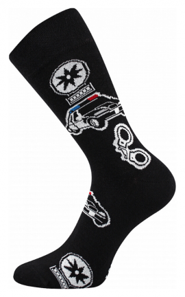 Bunte Socken für Polizisten