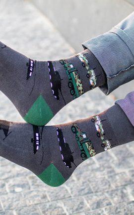 Bunte Socken für Armee