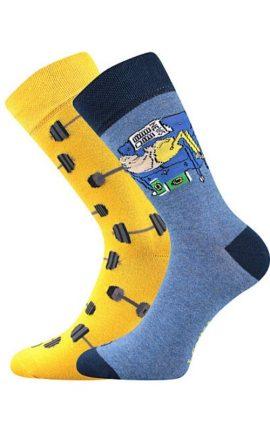 Bunte Socken Fitness