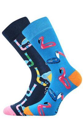 Bunte Socken mit Taucher