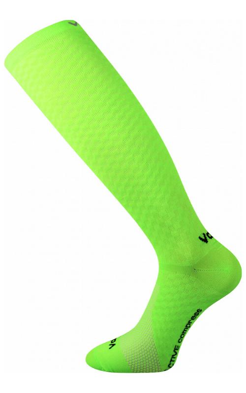 Kompress Socken für Lauf Grün