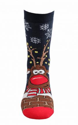 Socken Weihnachtsmotiv Frohe Weihnachten
